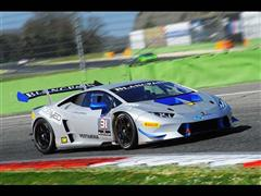 The Lamborghini Blancpain Super Trofeo Europe kicks off in  Vallelunga (ITA) with the official testing session