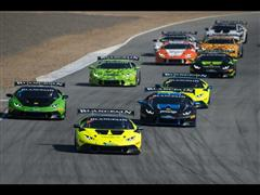 Antinucci Wins Opening Round of Lamborghini Blancpain Super Trofeo North America at Laguna Seca