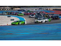 First ever pole position and almost podium finish in 1000 Km Paul Ricard race. A drive through slowed the Lamborghini Huracán GT3 in the Blancpain Endurance Series