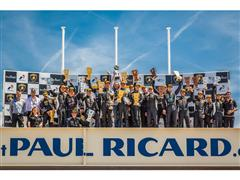 The Zampieri-Mavlanov duo (Antonelli Motorsport) claims their first win at Paul Ricard in Lamborghini Blancpain Super Trofeo Europe