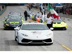 U.S. Television Package Shows Continued Growth of Lamborghini Blancpain Super Trofeo North America
