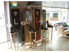 Big success of Collezione Automobili Lamborghini at Milano Moda Uomo