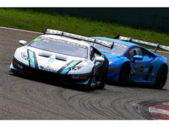 Thrilling Lamborghini Racing Continues Uninterrupted For the Second Day at the Shanghai International Circuit
