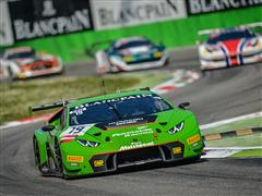 Victory Returned to the Lamborghini Huracán GT3 in Three Hours of Monza, Blancpain Endurance Series 2015