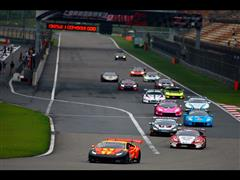 Lamborghini Blancpain Super Trofeo Asia Series' Semi-Finals at the Shanghai International Circuit