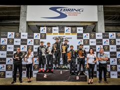 Sebring International Raceway Hosts Lamborghini Blancpain Super Trofeo Asia and World Finals
