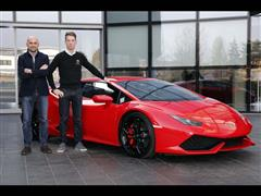 Lamborghini Squadra Corse confirms Mirko Bortolotti as official racing driver until 2019