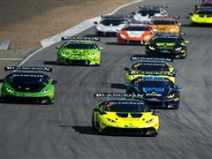 New Teams and Drivers to Take Green Flag In Season Opener of Lamborghini Blancpain Super Trofeo North America