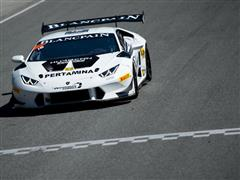 Lewis Storms Through Field To Take Lamborghini Blancpain Super Trofeo North America Victory