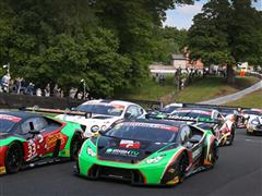 First victory for the Lamborghini Huracán GT3 at British GT Championship