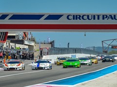 The Lamborghini Blancpain Super Trofeo Europe at Paul Ricard with 47 cars on grid
