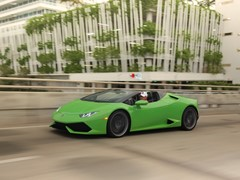 HURACÁN LP 610-4 SPYDER - GLOBAL DYNAMIC LAUNCH IN MIAMI