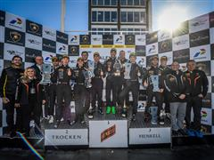 Dennis Lind graduated PRO champion of the Lamborghini Blancpain Super Trofeo Europe in Valencia