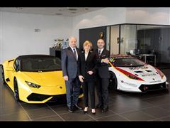Automobili Lamborghini sceglie il Gruppo Bonaldi  come partner commerciale su Milano