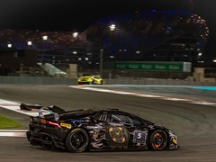 Race 1 of the Lamborghini Super Trofeo Middle East  won by Antonelli and Roda at Yas Marina Circuit