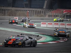 Here are the 2017 Champions of the Lamborghini  Super Trofeo Middle East