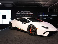 Lamborghini Huracán Performante Makes North American Debut in New York City