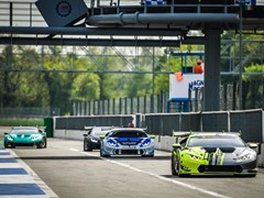 Monza's official tests open the season  of the Lamborghini Super Trofeo Europa