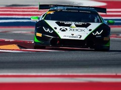 Antinucci Takes First Win of the Lamborghini Super Trofeo North America Season in Race 1 at Circuit of the Americas
