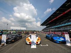 Lamborghini's Thrilling Thai Super Trofeo Race One Gets Underway At Chang International Circuit In Buriram