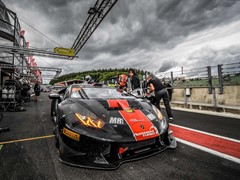 Paul Scheuschner and Hendrik Still take their first  victory in the Lamborghini Super Trofeo Europe at Spa