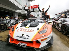 Double victory for Cozzolino and Yazid in the Lamborghini Super Trofeo Asia