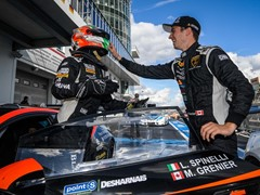 Double victory for Grenier and Spinelli in the Lamborghini Super Trofeo Europe at the Nürburgring