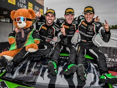 The Lamborghini Huracán GT3 is the 2017 champion of the Blancpain GT Series