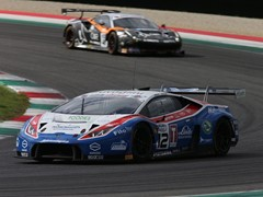 Lamborghini wins the Italian GT title with Alex Frassineti and Michele Beretta at Mugello