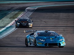 Agostini and Breukers score a double victory in the Lamborghini Super Trofeo Middle East