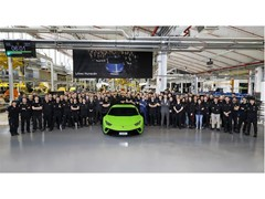 Production record for Automobili Lamborghini: 10,000 Huracán produced in four years