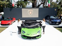 Lamborghini Stages Global Debut of Aventador SVJ Launches Lamborghini Lounge at Monterey Car Week