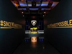Automobili Lamborghini e La Buccia si aggiudicano il primo premio per l'evento di lancio dinamico della Urus a Roma