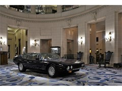 Lamborghini celebrates Espada's 50th anniversary, at London's Royal Automobile Club and the legendary Abbey Road