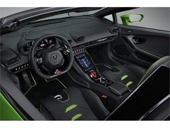 Huracán EVO Spyder Interiors