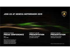 Join us at Geneva Motorshow 2019