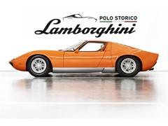 "Lamborghini Polo Storico discovers and certifies the Miura P400  used in the 1969 film ""The Italian Job"""