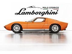 """Lamborghini Polo Storico scopre e certifica la Miura P400  usata per il film """"The Italian Job"""" del 1969"""