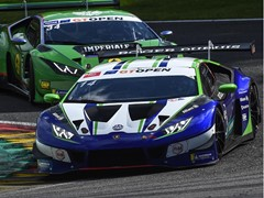 GT Open - Grenier and Siedler take third victory of the season for Lamborghini  at Spa