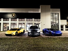 Lamborghini Adds Newly Designed Gulf Coast Showroom