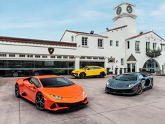 Lamborghini Celebrates New Beverly Hills Dealership with the Debut of a Signature Property on Wilshire Boulevard