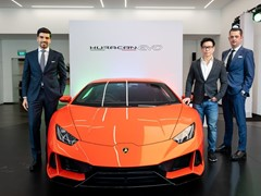 Lamborghini Huracán EVO debuts in Singapore: An elevation of technologies for amplified driving pleasure