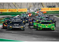 Postiglione/Galbiati withstand epic late-race surge from Basz/Paziewski to complete Misano Lamborghini Super Trofeo Europe clean-sweep