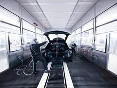 Automobili Lamborghini inaugura il nuovo impianto di verniciatura  a Sant'Agata Bolognese