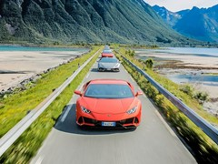Lamborghini Avventura 2019:  A Huracán EVO expedition above the Arctic Circle to explore Norway's Lofoten Islands