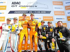 Lamborghini records its first ADAC GT Masters victory of 2019 at Zandvoort