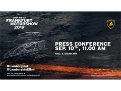 IAA 2019: Invitation to the Automobili Lamborghini Press Conference