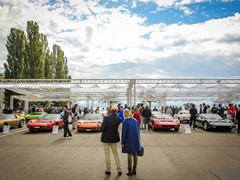 The Lamborghini & Design Concorso d'Eleganza returns: from Venice to Trieste, classic Lamborghini cars celebrate the work of architect Gae Aulenti