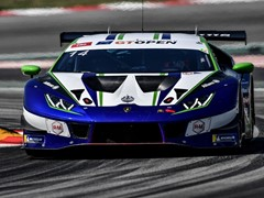 Lamborghini hold International GT Open points advantage ahead of final round following one-two in Barcelona