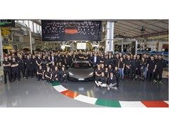 New production record for Automobili Lamborghini:  in five years Lamborghini Huracán surpasses Gallardo production of ten years